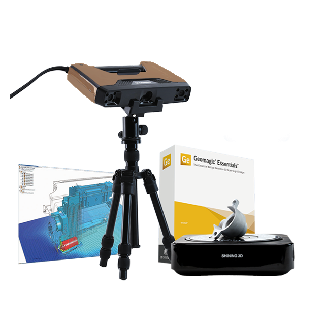 Pack Rétro-ingénierie scanner 3D Einscan Pro HD