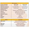 Données techniques et comparaison imprimantes B9 Core 550 et B9 530