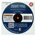 Bobine de PLA renforcé en fibres de lin de Nanovia - fabriqué en France