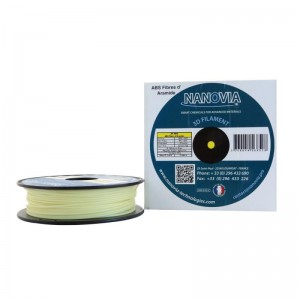 ABS Fibre d'aramide Kevlar de Nanovia - naturel