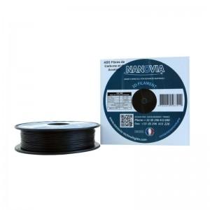 ABS Fibre carbone et Kevlar de Nanovia - noir