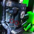Détail de la poulie d'entrainement inox - Volumic Mk2