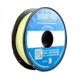 Bobine de PETg / fibres d'Aramide Kevlar de Nanovia - Naturel