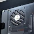 Vue d'un des systèmes de ventilation sur l'imprimante 3D Pro Plus de Raise3D