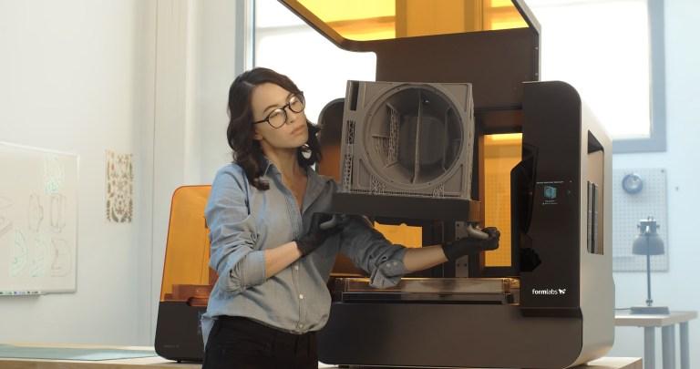 Imprimante 3D Form 3L - impressions 3d en résine grand format