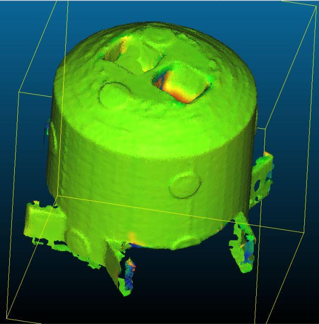 Exemples simples d'utilisation des scanners 3D proposés par Cylaos (+ présentation succincte des différentes technologies de scanner)