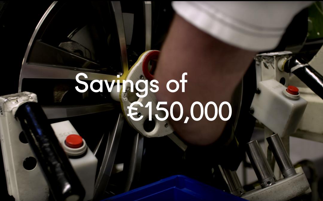 Outillages, gabarits, accessoires d'assemblage et de contrôle – Usine de Volkswagen au Portugal