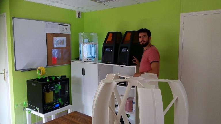 Cylaos dans ses nouveaux bureaux à Nivillac (Bretagne)