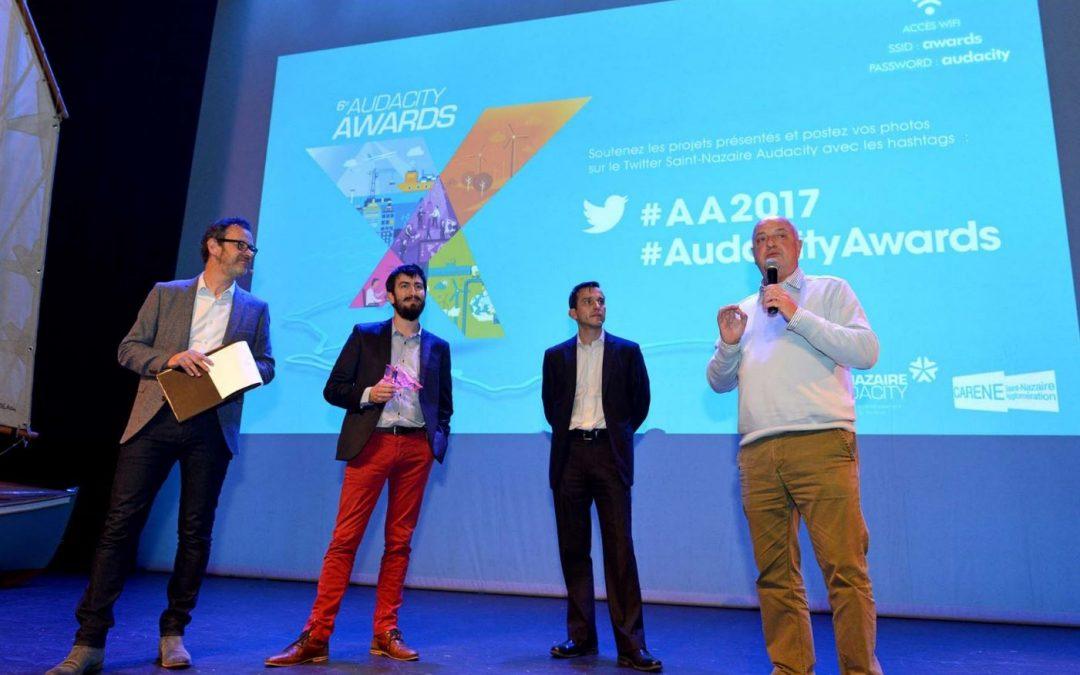 AUDACITY AWARDS : CYLAOS LAURÉAT 2017 dans la catégorie Service Innovant