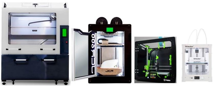 Quelle imprimante 3D choisir en 2018 ou comment choisir une imprimante DÉPÔT DE FIL (FDM) et particulièrement une de grande dimension ?