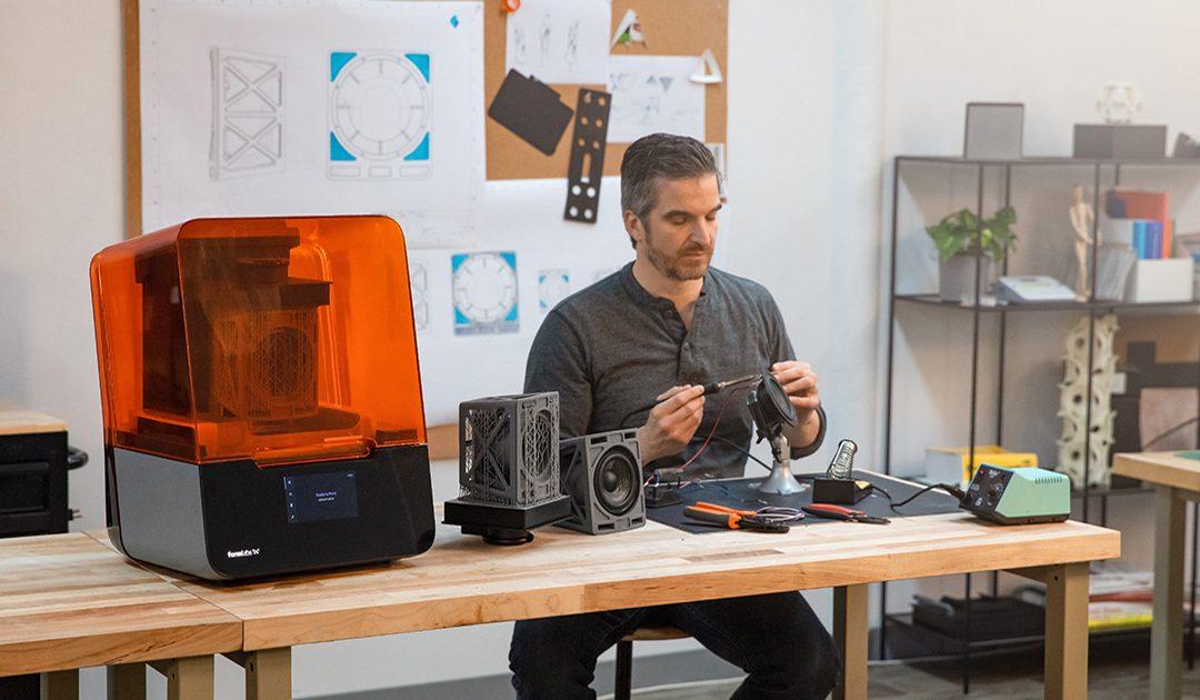 Maintenez votre productivité avec les imprimantes 3D Formlabs
