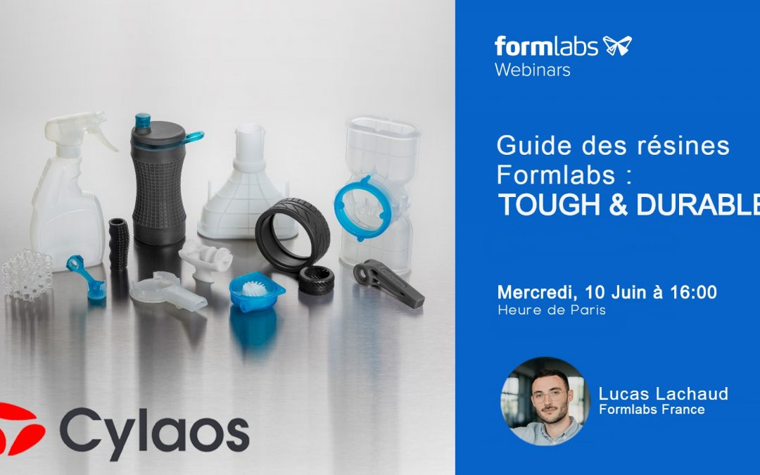 guide de choix resine formlabs tough et durable