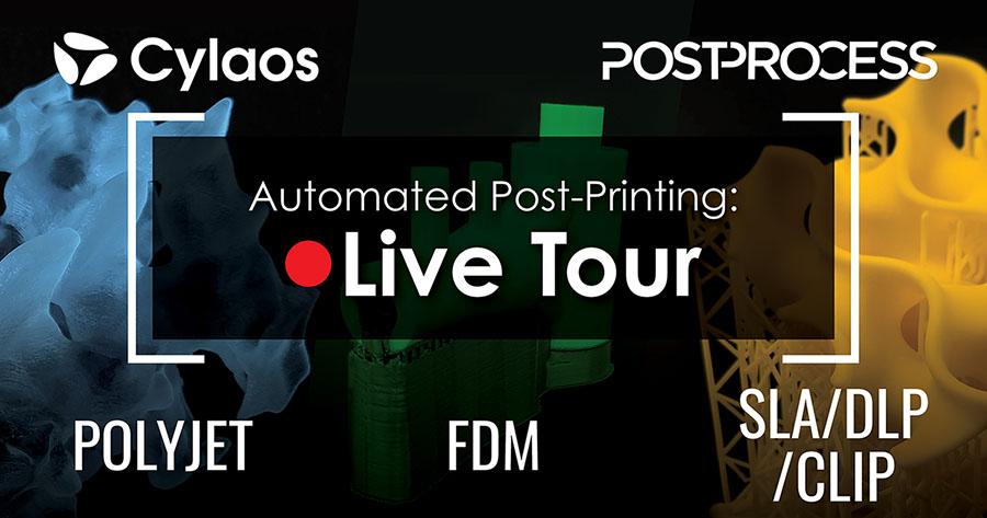 Solution PostProcess découverte virtuelle live