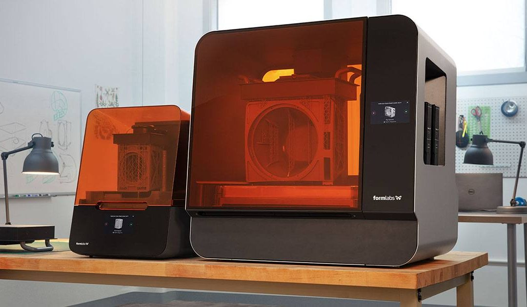 Decouverte Form 3L Formlabs
