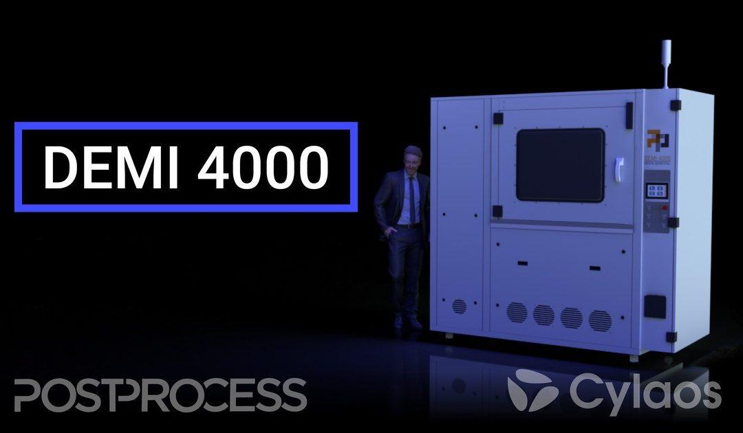 PostProcess lance la DEMI 4000